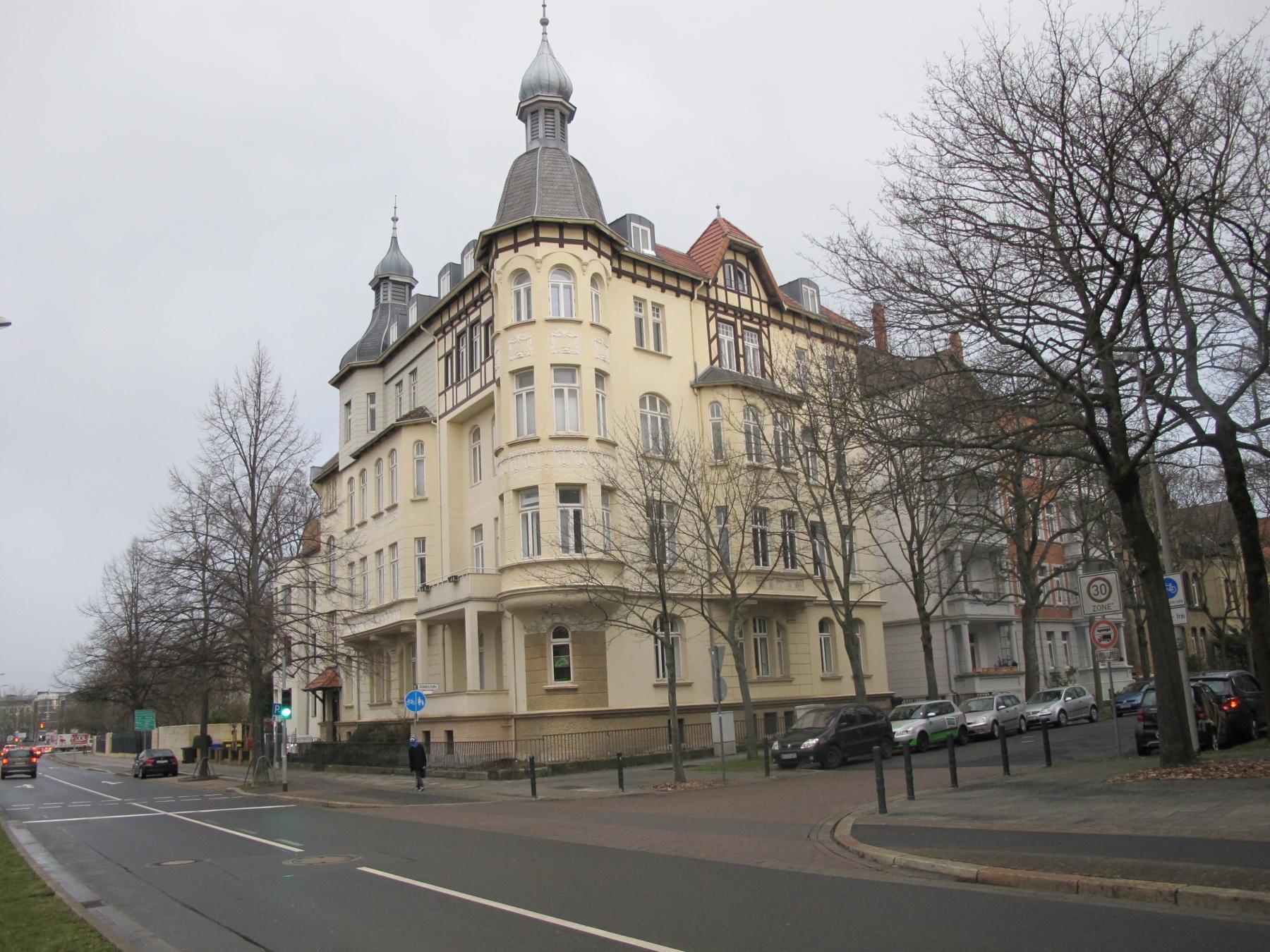 Repräsentatives Jugendstil Gebäude in 38102 Braunschweig